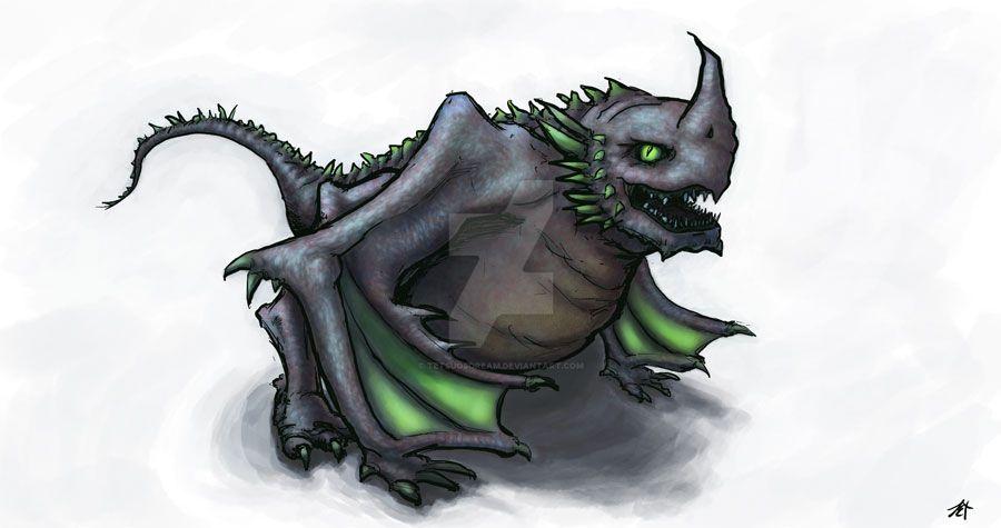 Screwon the Dragon by tetsuosdream