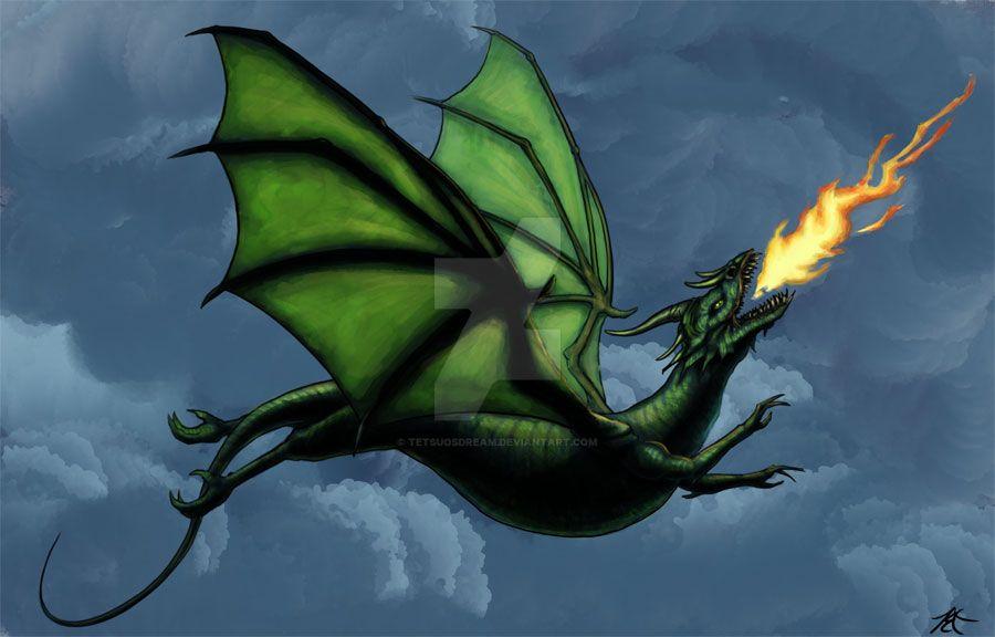 Fire Wyrm by tetsuosdream