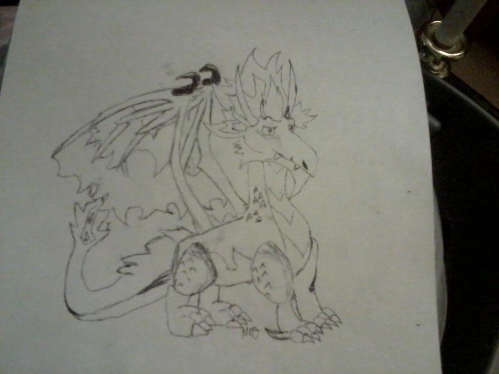 Dragon-flame Susan by freakygal505