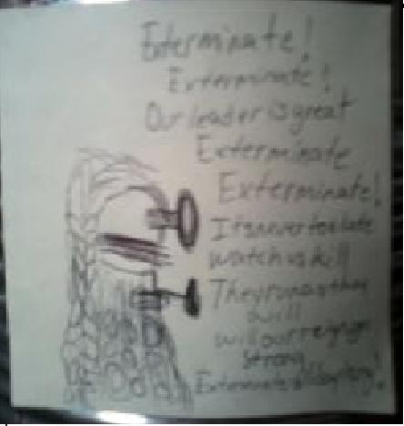 Dalek- Elsa by freakygal505