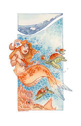 siren Watercolor