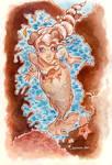 Siren Watercolor - 2
