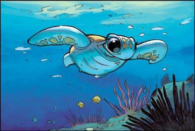 Turtle - 'Thalulaa' by Oodmkl
