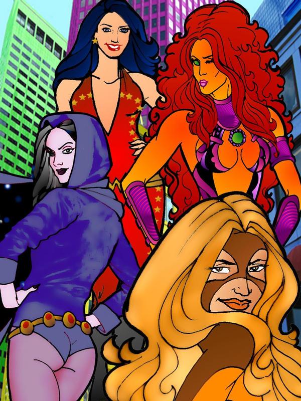 Of Teen Titans It Ladies 110