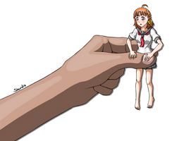 Chika in a Pinch by Shardro