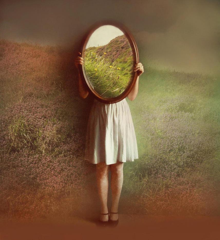 irish mirror by victoriaaudouard