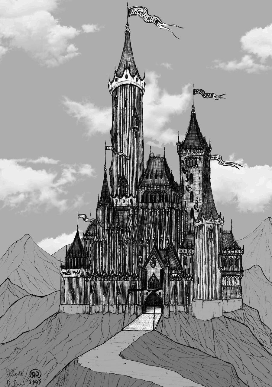 Gothic Castle By DoppiaErre