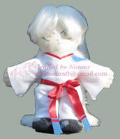 Inu-papa plushie for InuHanyou by notoes