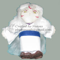 Sess-mom plushie for InuHanyou by notoes