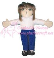 Little 18 inch Tokiya plushie by notoes