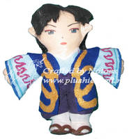 Byakuya InuYasha plush forKira by notoes
