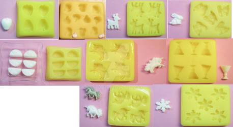2nd set of custom candy molds