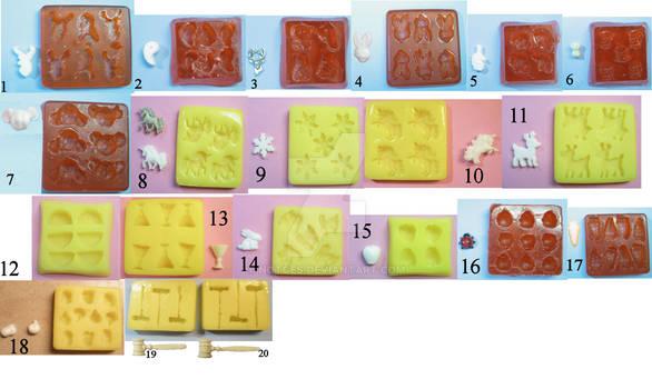 Custom mold design examples - set #3