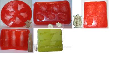 Custom mold design examples - set #4