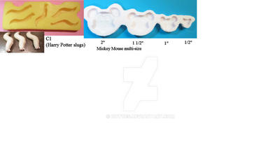 Mold Design Examples - 3x7 inch size