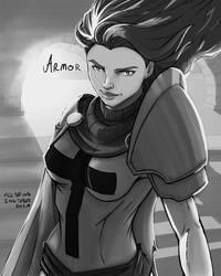 Inktober 2020 - Day 14 - Armor