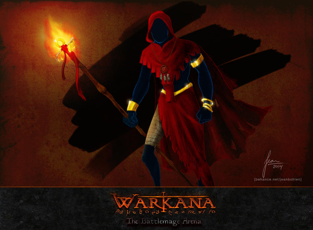 Game Project - Warkana - Mage by Bohlen