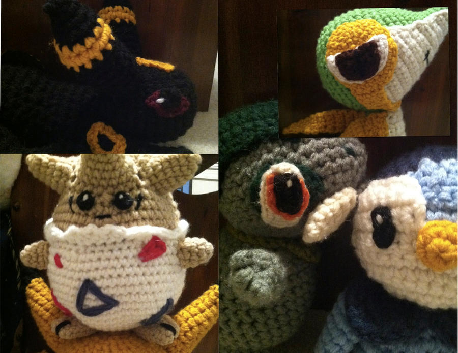 Pokemon Eye Crochet Patterns And Tips By Ookamichan423 On Deviantart