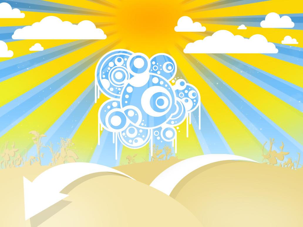 Abstract sunshine 08 update by Myssynen