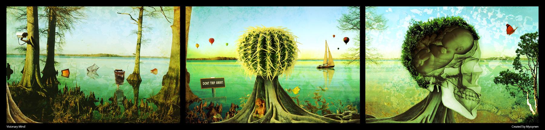 Visionary Mind: Series by Myssynen
