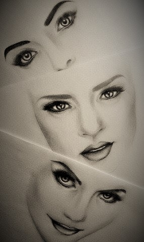 Face Makeup Drawings By DimplesT On DeviantArt