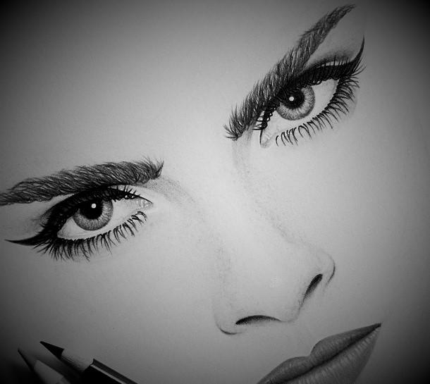 makeup drawing face - photo #8