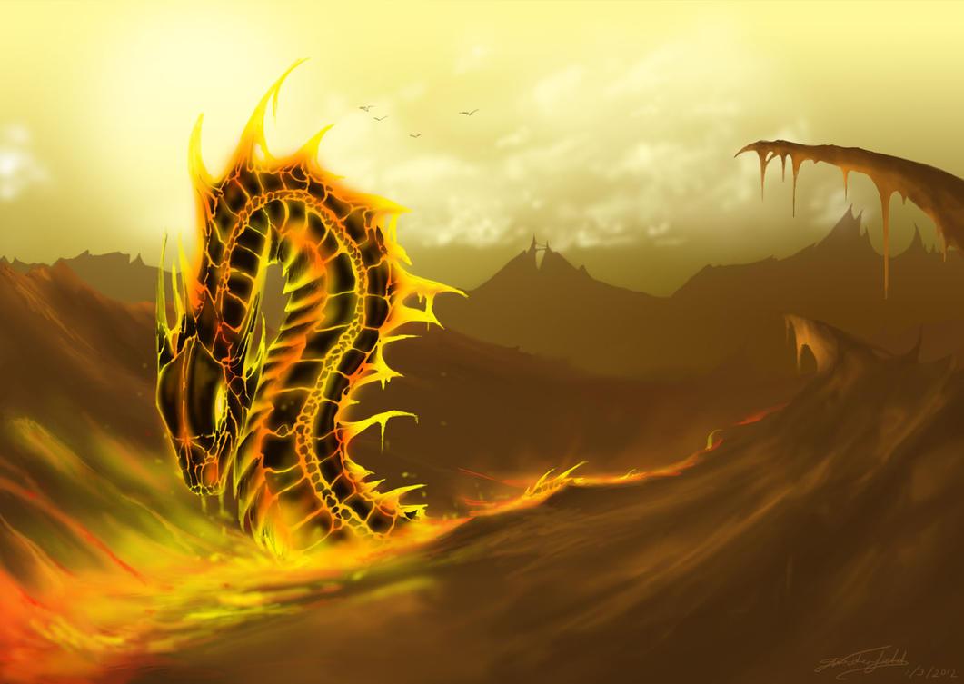 Flying Fantasy Dragons