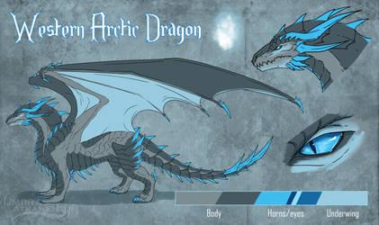 Frost Dragon [SOLD] by UmbraAtramentum