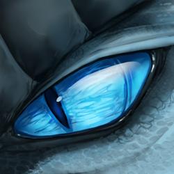 Frost Dragon Eyecon by UmbraAtramentum