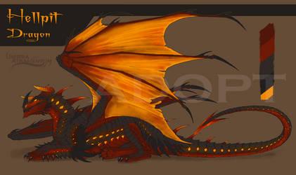 Halloween Demon Dragon Adopt [CLOSED]