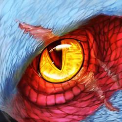 Ghost Eyecon [Commission] by UmbraAtramentum