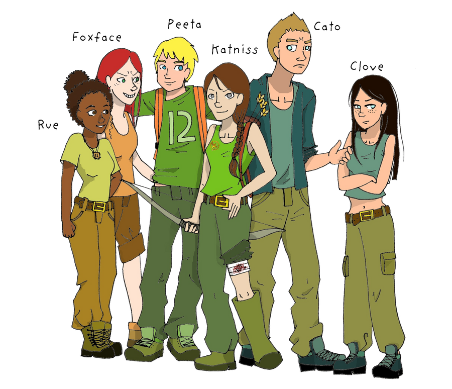 Tributes 74th Hunger Games Colored by BertMel on DeviantArt