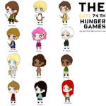 The cute 74th Hunger Games