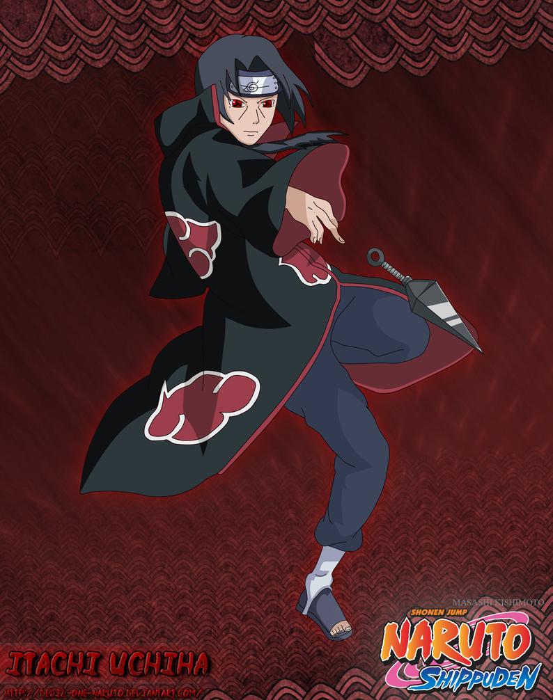 Itachi by Devil by devil-one-naruto