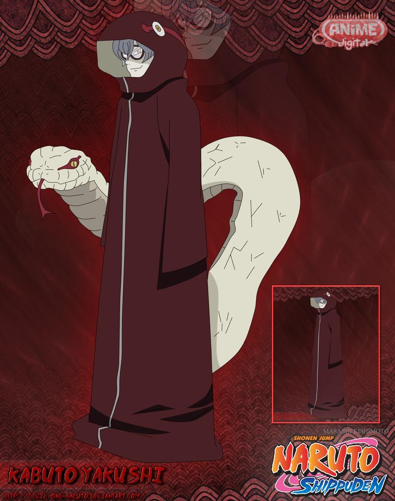 Kabuto Yakushi by Devil by devil-one-naruto