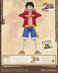 Monkey D. Luffy NEW by Devil by devil-one-naruto