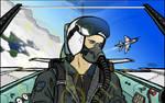 Pilot in MiG-21