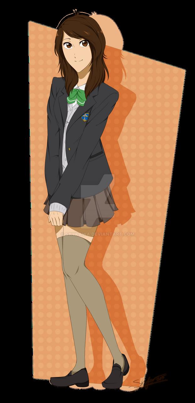 Sukairaa Kurokawa - Free![ Iwatobi ]OC/Persona by Sky-the-Weirdo