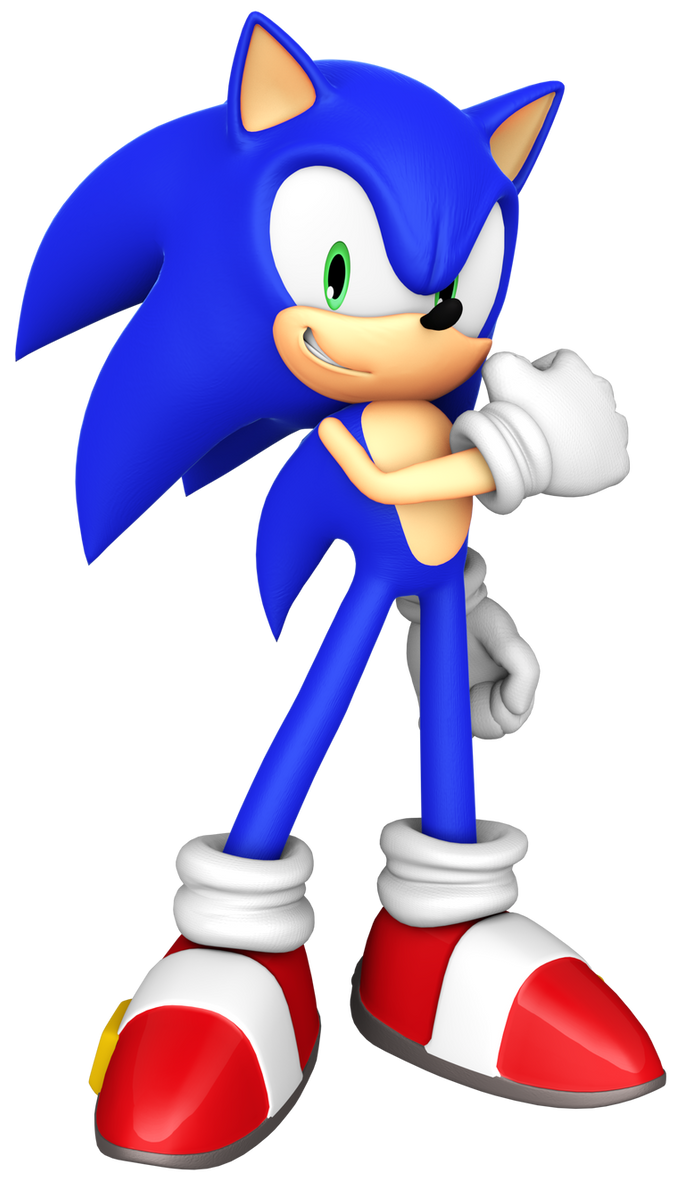 Sonic Forces - S Rank Pose by BlueParadoxYT