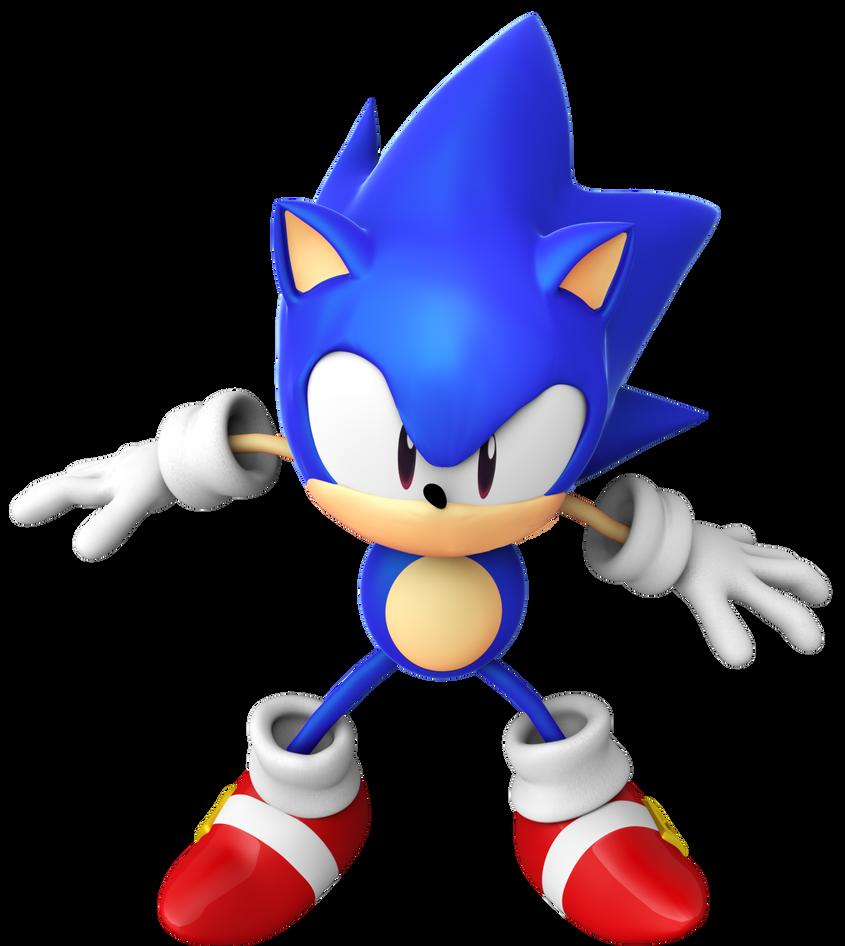 Sonic CD Ending Pose By BlueParadoxYT On DeviantArt