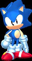 Sonic Mega Drive Pose (Version 2)