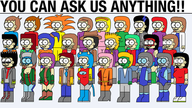 You can ask the main characters anything!