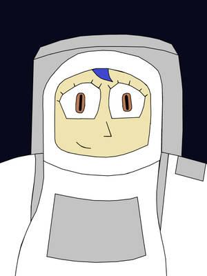 Team Crystal - SpaceWoman (2D) by JennyRichardBlakina
