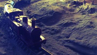 N Gauge Railway 8 - Nighttime by JennyRichardBlakina