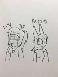 Xgalacticxstudios18x - Lilly And Alexus by JennyRichardBlakina