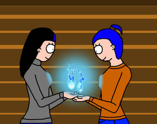 Sara and Sophie's Glowing Time