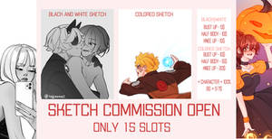Sketch commission closed [ 15 slots]