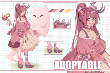 Adopt N1 - Candy Witch [ OPEN AUCTION] by Cogamori
