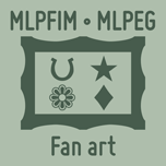 MLPFIM and MLPEG fan art by Catspaw-DTP-Services