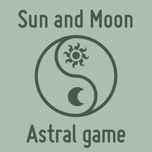Sun and Moon astral game by Catspaw-DTP-Services